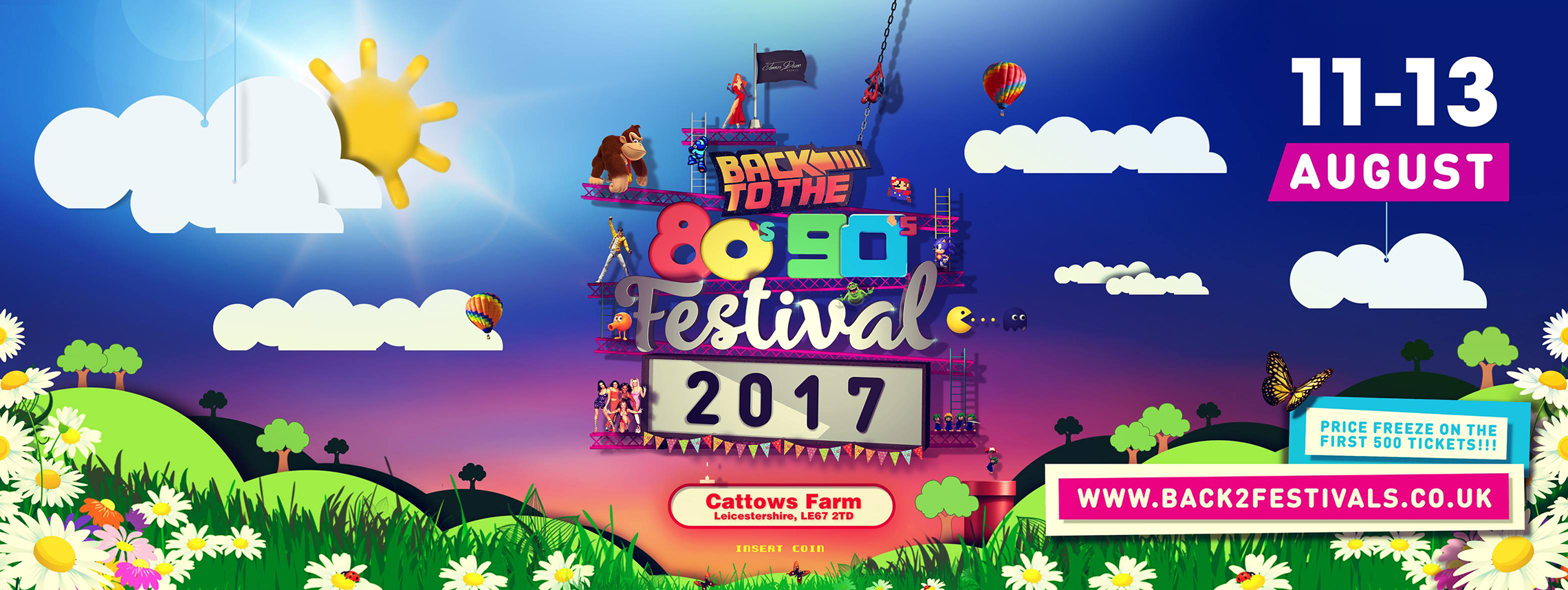 Back to the 80's & 90's Music Festival