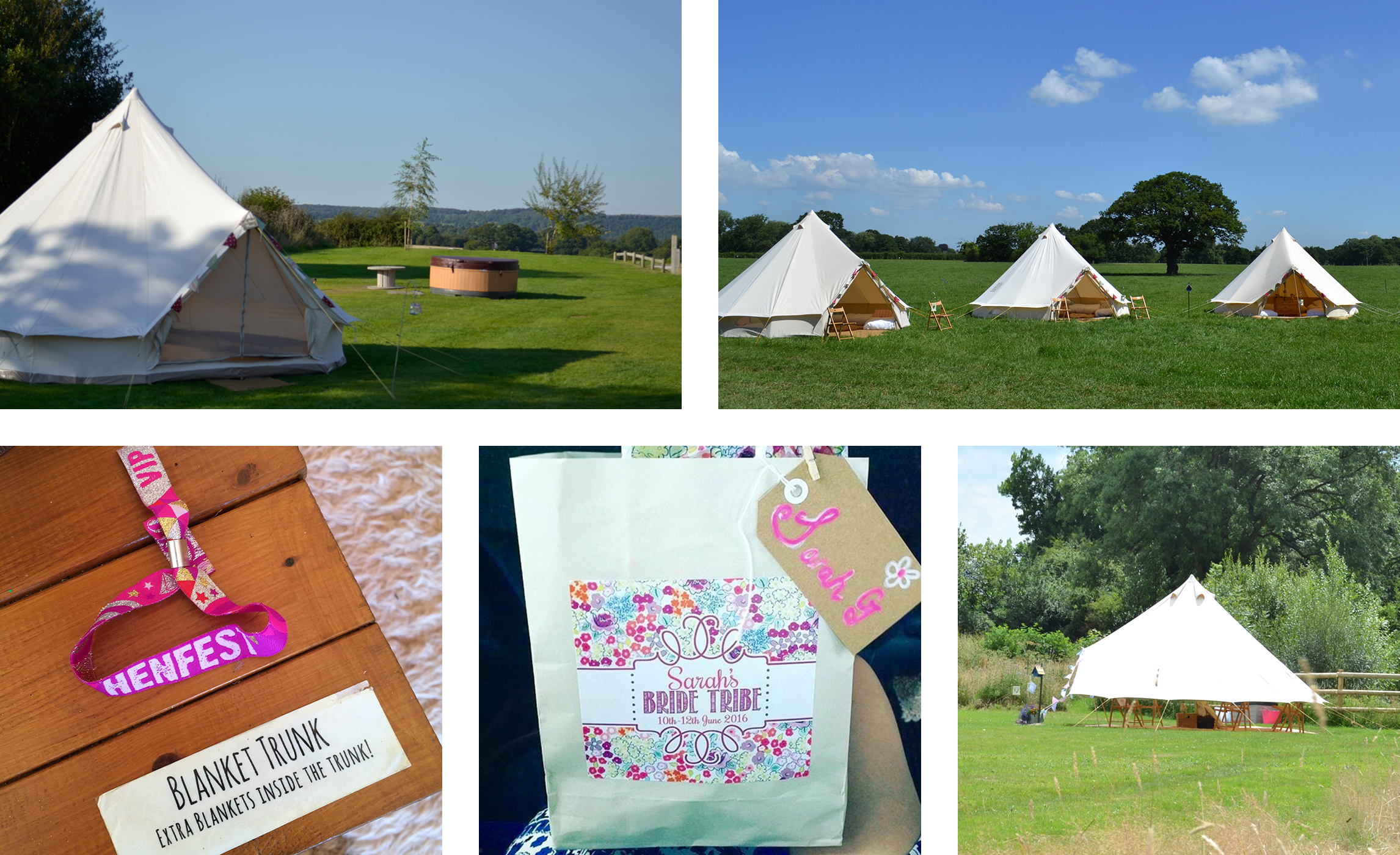 Pop-Up Hen Camp with Tinkers Bells, perfect memorable experience with family and friends