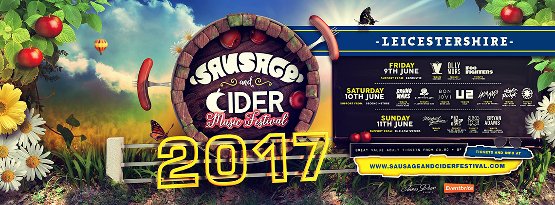 Sausage and Cider Music Festival in Leicestershire
