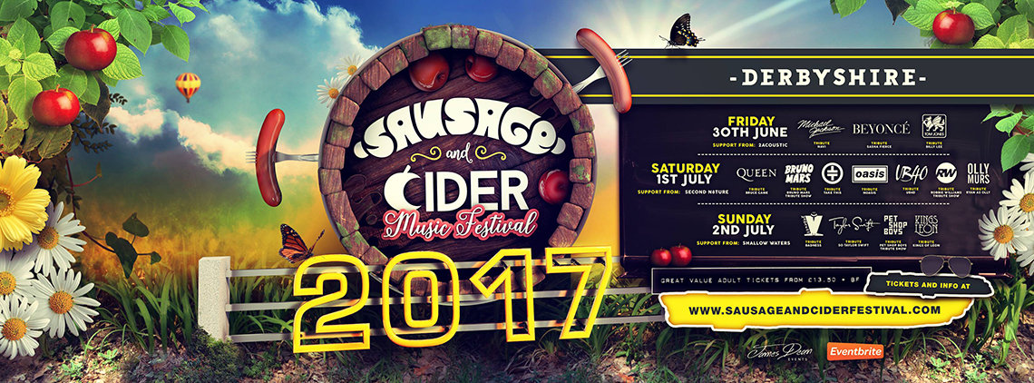 Sausage and Cider Music Festival in Derbyshire