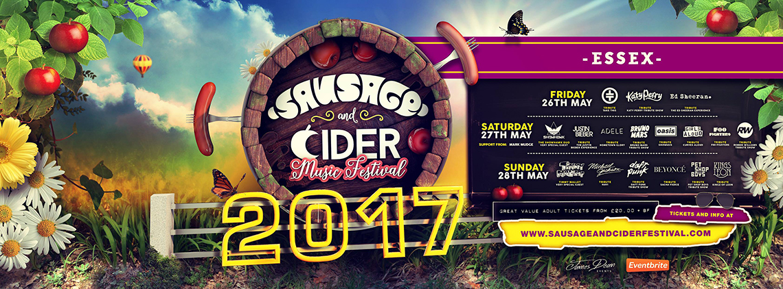Sausage and Cider Music Festival in Essex