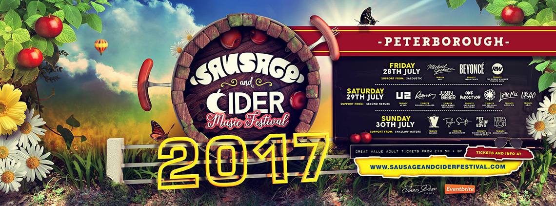Sausage and Cider Music Festival in Peterborough