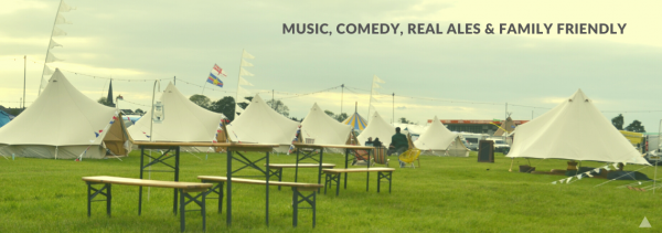 Glamping at The Acoustic Festival of Britain