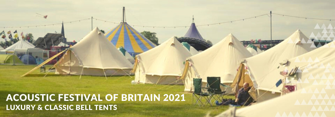 Acoustic Festival of Britain Glamping at the Uttoxeter Racecourse