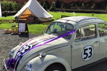 Sugnall Walled Gardens - a perfect glamping location