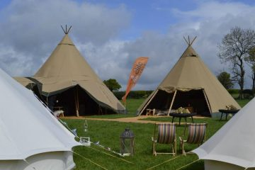 Elite Tents being hired for festivals and events