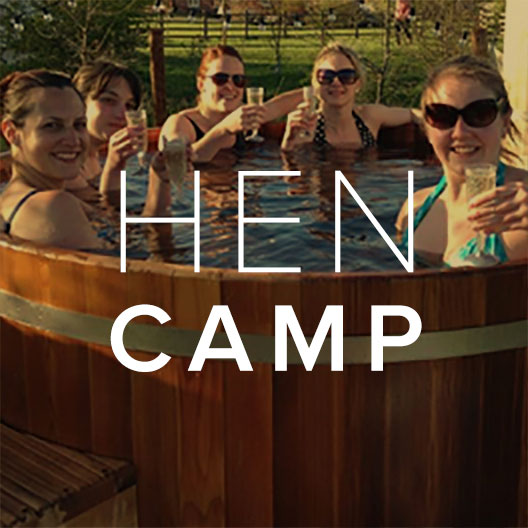 Find out more about our Hen Camp Bell Tent Packages