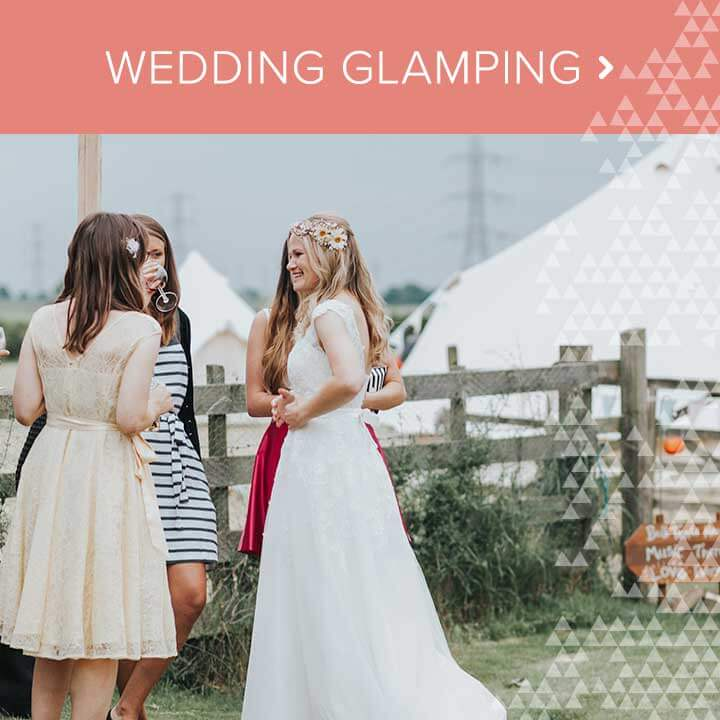 View wedding glamping