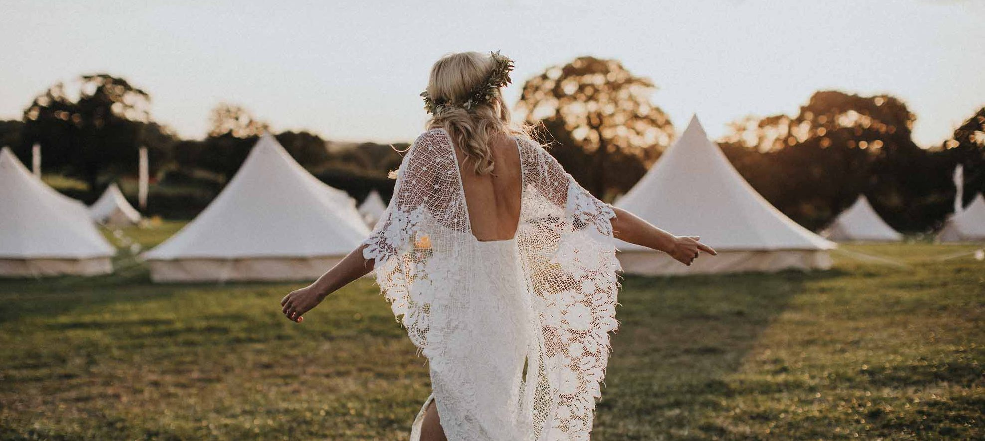 Glamping for Tipi Weddings